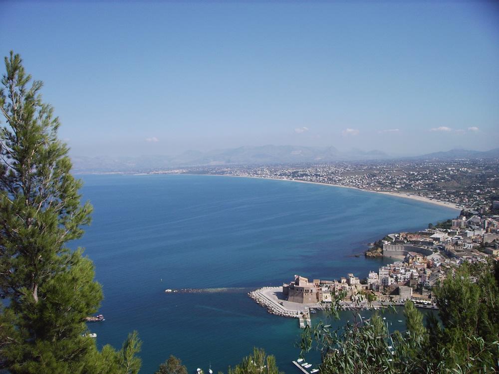 Castellammare del Golfo vista panoramica