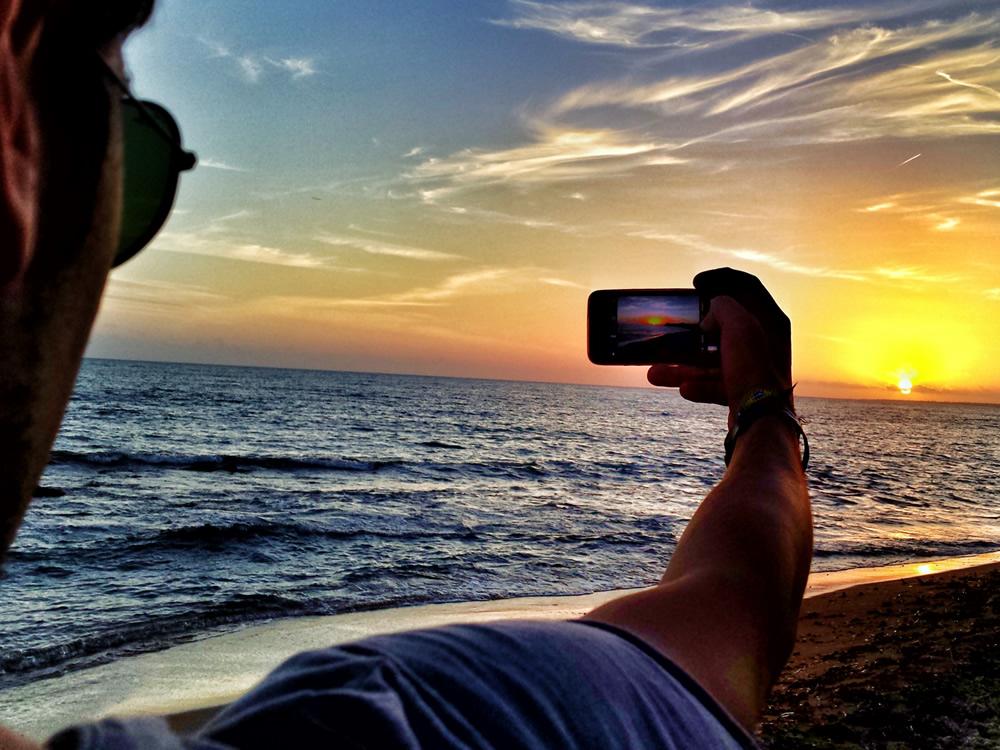 Il tramonto a San Vito Lo Capo