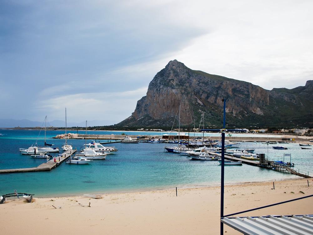 Il porto di San Vito Lo Capo